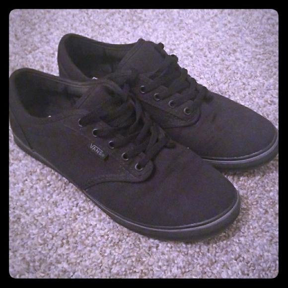 Vans Shoes - All Black Vans